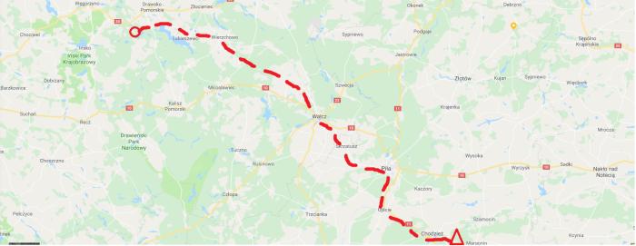 mapa dzień 1