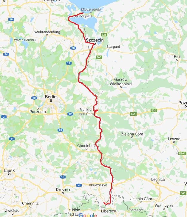 Zytawa Swinoujscie mapa